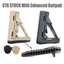 Stock de carabine repliable en nylon,accessoire à 6 positions, outil à spécification commerciale, disponible en noir, bronzé et vert, MP PTS .223 CTR,