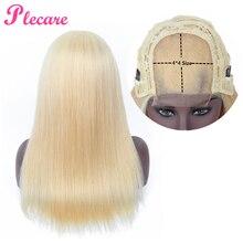 Plecare 4*4 человеческие волосы парики 613 парик кружева Закрытие человеческих волос парики для черных женщин прямые бразильские не реми волосы