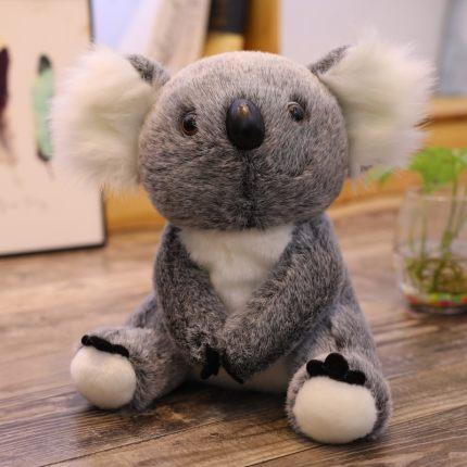 Super cute high simulation koala bear plush doll toy plush craft toy koala bear puppet Baby Accompany Doll birthday holiday gift