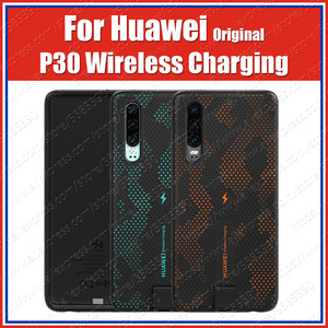 Image 1 - CNR216 UVT Qi 10W Original HUAWEI P30 Wireless Charge Case Magnetic Back Cover Supports Car Mount ELE L09/L29