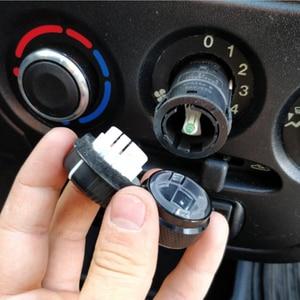 Image 4 - 3 個用 Lada グランタ AC エアコンノブステッカーアクセサリー