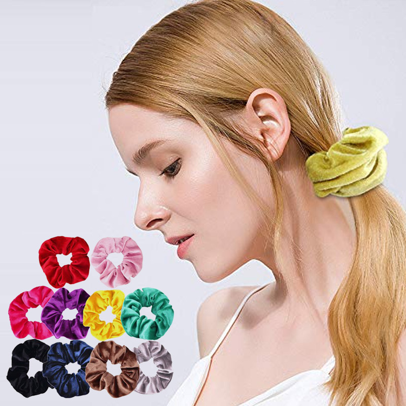 Ladies Hair Band Head Rope Multicolor 10pcs Ponytail Alloy Retro Fashion Ornament Headband Durable 20pcs Accessories Style