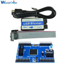 Diymore Max II EPM240 CPLD макетная плата модуля обучения USB Blaster Mini USB кабель 10pin forJTAG соединительный кабель DIY