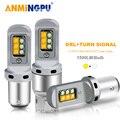 ANMINGPU 2x Signal Lampe T20 Led 7443 W21/5W 3157 P27/7W T25 Led-lampe 1157 1156 LED BA15S P21W Blinker DRL Licht 1500LM 12V