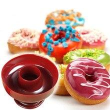 1/3/5 adet yuvarlak çörek kek kalıbı Donut yapma makinesi çerez kesici pasta puding kek dekor Diy kalıp aracı