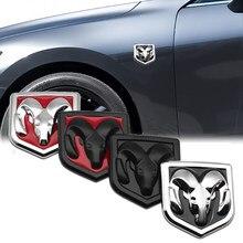 3D наклейка для стайлинга автомобиля, металлическая эмблема, задняя дверь для Dodge journey ram 1500 caliber nitro charger durango, автомобильные аксессуары