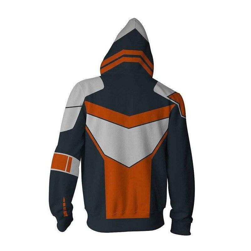 New Style Borderlands 2 Maliwan 3D Zipper Hoodie Sweater Customization