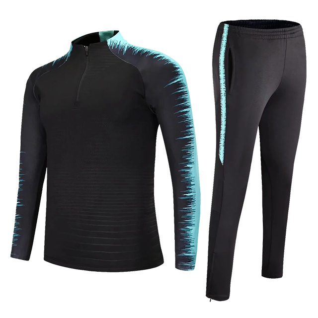 Kids Adults Soccer Jerseys Sets Survetement Football Kits Men Child Running Jackets Sports Training Tracksuit Uniforms Suit 11