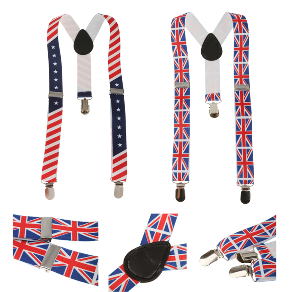2pcs Elasticated Suspenders Braces Y-back For Kids Girls And Boy Suspender For Babies, Toldders And Kids