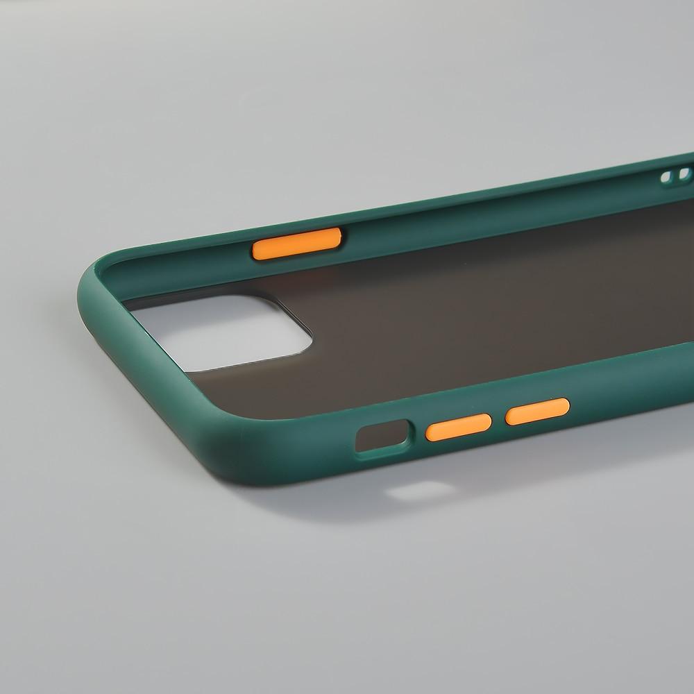 Hybrid Simple Matte Bumper Phone Case for iPhone 11 Pro Max Xr Xs Max 6s 8 7 Plus 5