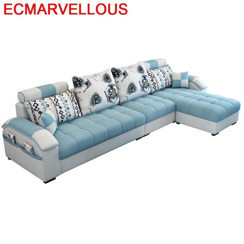 Puff Asiento Recliner Kanepe Meuble Maison Moderna Pouf Moderne Meble Mobilya Mueble De Sala Set Living Room Furniture Sofa