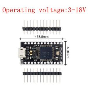 Image 2 - 100 pièces TENSTAR ROBOT avec le chargeur de démarrage nouveau Pro Micro ATmega32U4 ATMEGA32U4 AU 5 V/16 MHz Module contrôleur