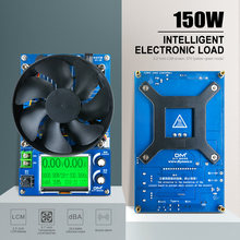 Voltímetro de capacidad de batería Digital, indicador de carga electrónica de corriente constante ajustable, 150W, enchufe de la UE y EE. UU.
