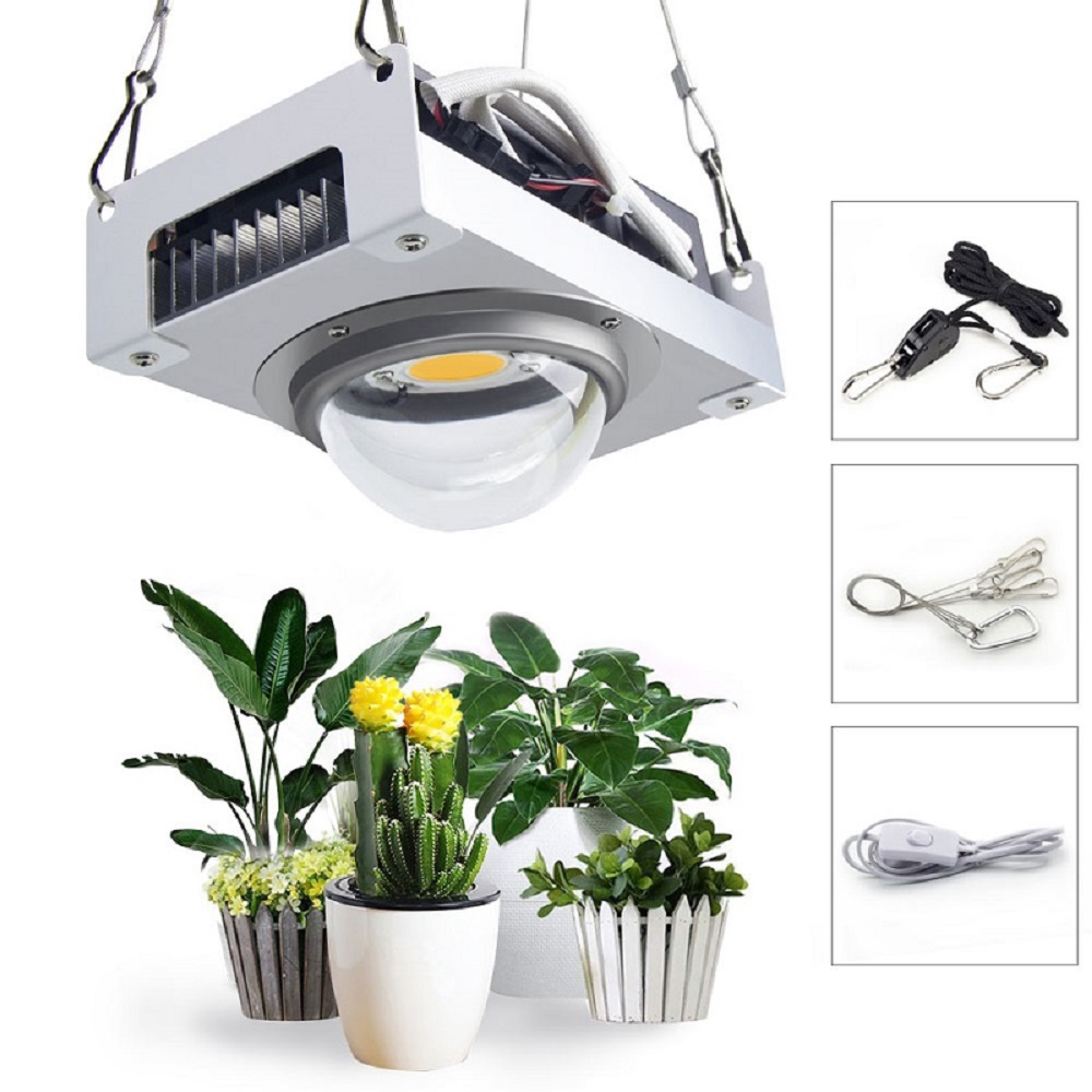 CREE CXB3590 COB LED Grow Light Full Spectrum 100W Citizen 1212 LED Plant Grow Lamp for Indoor Tent Greenhouses Hydroponic Plant