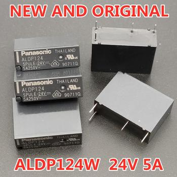 5PCS/LOT Relay ALDP124 ALDP124W 24V 5A 250V DIP4 New and original 5pcs tip33c new and original