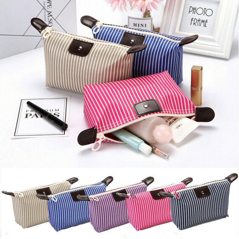 Women Toiletry Bag Lazy Makeup Bag Quick Pack Waterproof Travel Drawstring Storage