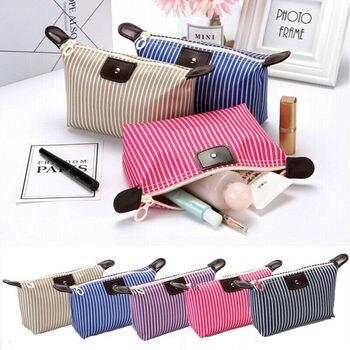 Women Toiletry Bag Lazy Makeup Bag Quick Pack Waterproof Travel Drawstring Storage