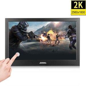 Pantalla táctil LCD 2K IPS HD de 10,1 pulgadas, Monitor portátil pc Mini HDMI 11,6