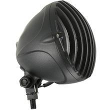 Round 12V Universal Motorcycle Headlight Retro Cafe Racer Hi/Lo Lamp For H-arley Honda Yamaha Chopper Bobber