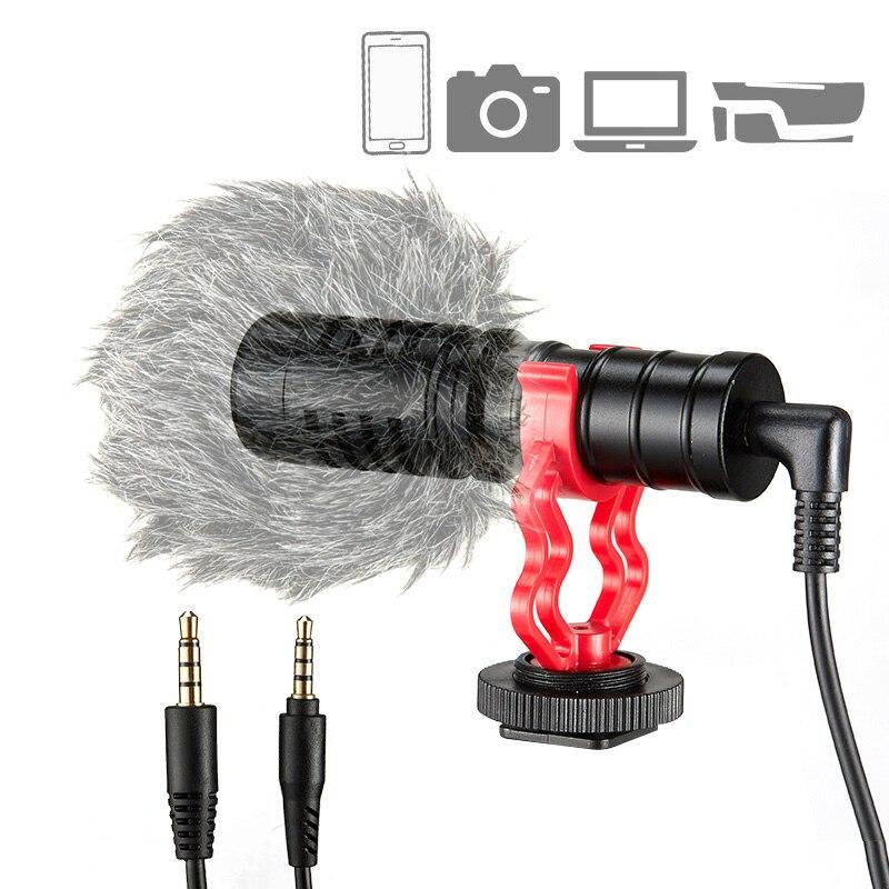 Профессиональный конденсаторный микрофон KUP M1, видеокамера для записи видео, микро мини микрофон для студии, ПК, телефона с подставкой Микрофоны      АлиЭкспресс