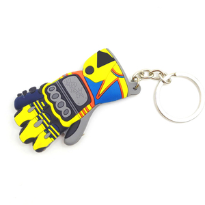 Image 2 - Glove Shape Motorcycle car keychain 3D  key ring for bmw key chain Yamaha VR46 llavero moto vespa Honda