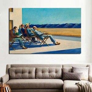 Edward Hopper People In The Su