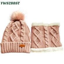 Высокое качество зимняя шапка для женщин мужчины Новый крючком с капюшоном Cap теплый плюс бархат мужская открытый мужчины вязаный шарф женщин шляпа