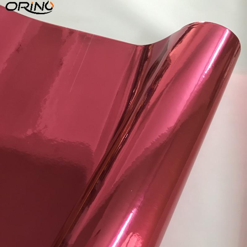 Rose Red Chrome Vinyl Wrap Sticker-1