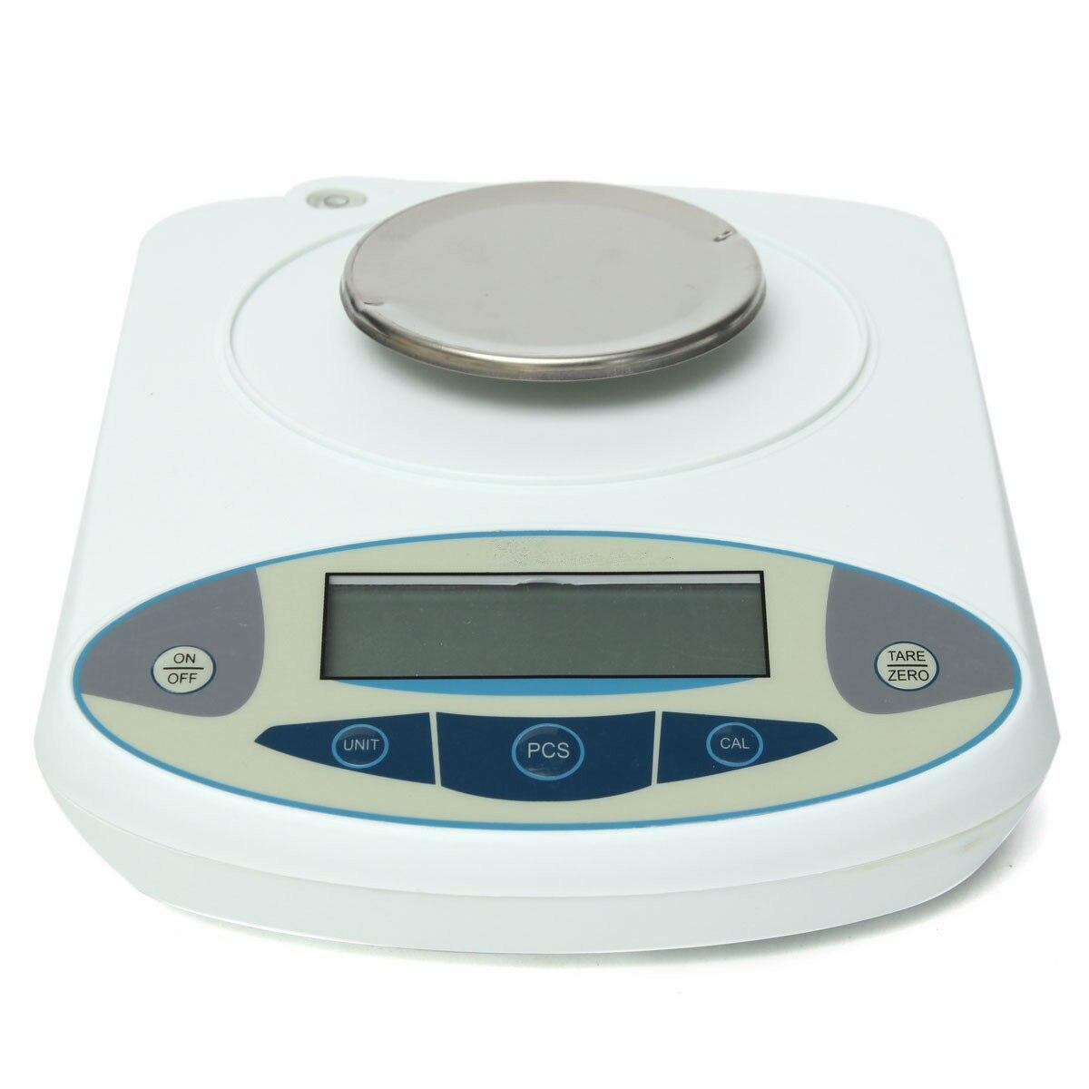 100x0.001g 1mg numérique LCD laboratoire laboratoire Balance analytique électronique bijoux Balance Mini Portable Balance de poids 100g - 4