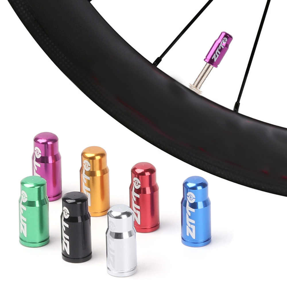 1/5 Uds. De aleación de aluminio tapas de presión para bicicleta cubierta a prueba de polvo MTB llanta neumático vástago tapones de válvula accesorios para piezas de bicicleta