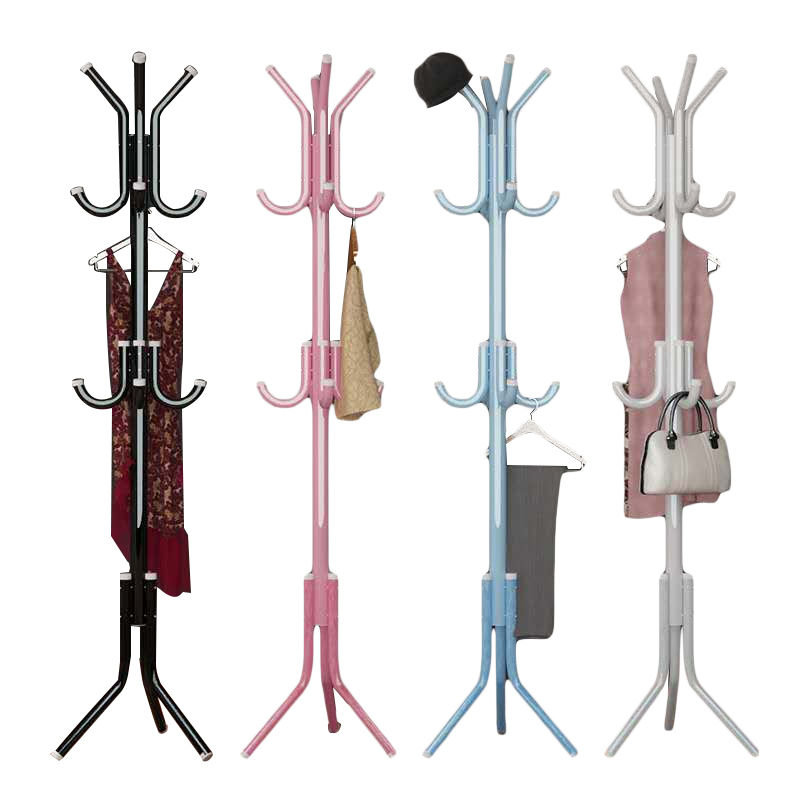 Simple Coarsening Hat Rack Clothes Rack Down Metro Art Hanging Rack Bedroom Clothes Rack Hanging Rack Single-pole Household