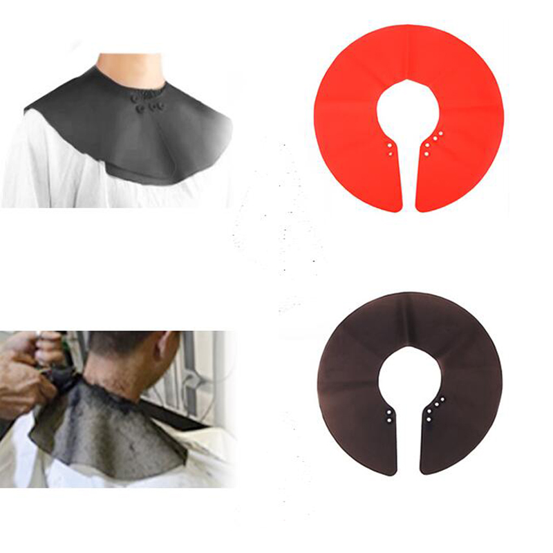 Silicone Barber Cape Hair Cutting Cloth Haircut Neck Cape Wrap Collar Shield Waterproof Hair Coloring Cuttin Hair Accessory