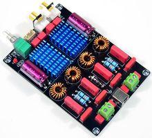 Free shipping TPA3116 2.0 Channel  Dual Chip WIMA Deluxe Digital Power Amplifier Board (100W+100W)