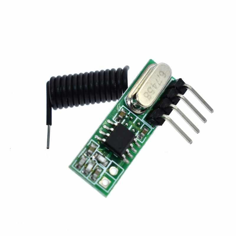 Module de réception de commutateur de télécommande sans fil Module de réception de contrôle d'accès Module de réception de plafonnier RX480A