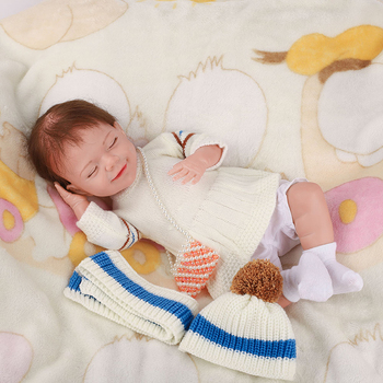 20 Inch Lifelike April Reborn Baby Doll Kid Playmate Gift Lol Alive Soft Toys For Girl Real Touch - discount item  52% OFF Dolls & Accessories