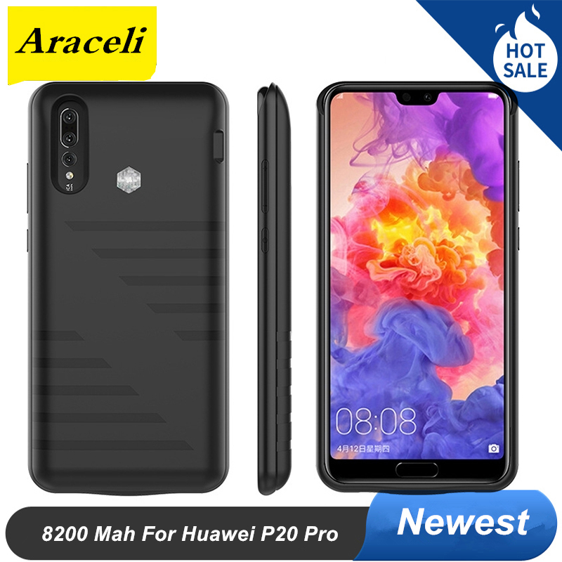 8200 Mah For Huawei P20 Pro Battery Case Backup Battery Charger Case Cover Power Case For Huawei P20 Pro Battery case