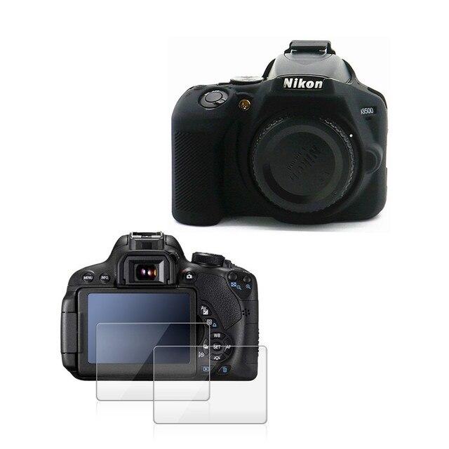 Resistente Anti-rayadura DSLR Cubierta VULCAN Vidrio Protector de pantalla para Nikon D3500 LCD