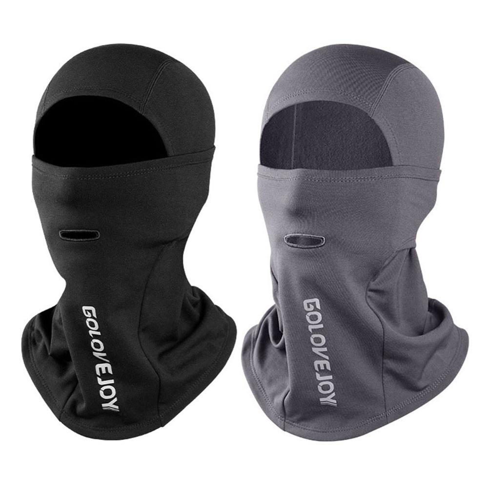 Winter Outdoor Thicken Riding Mask Tough Headwear Ski Mask Warm Plush Windproof Waterproof Hood For Men And Women 30E