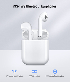 i9s tws wireless bluetooth 5.0 earphones