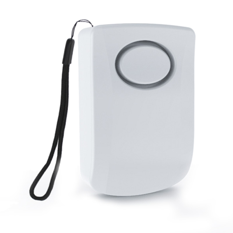 Door Handle Alarm With 130DB Vibration Triggered Door Alarm - Hang On Door Knob Or Mount On Wall - Perfect Use For Kids, Elderly