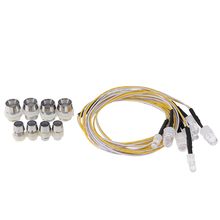 Hot Sale 8 LED Light Kit 2 White 2 Red 4 Yellow for 1/10 1/8 HSP RC4WD Axial SCX