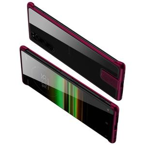 Image 5 - Chống Sốc Trường Hợp Cho Sony Xperia 5 Cao Cấp Nhôm Ốp Lưng Kim Loại Dành Cho Sony Xperia 5 Mỏng Cứng Miếng Dán Kính Cường Lực Dành Cho sony Xperia5