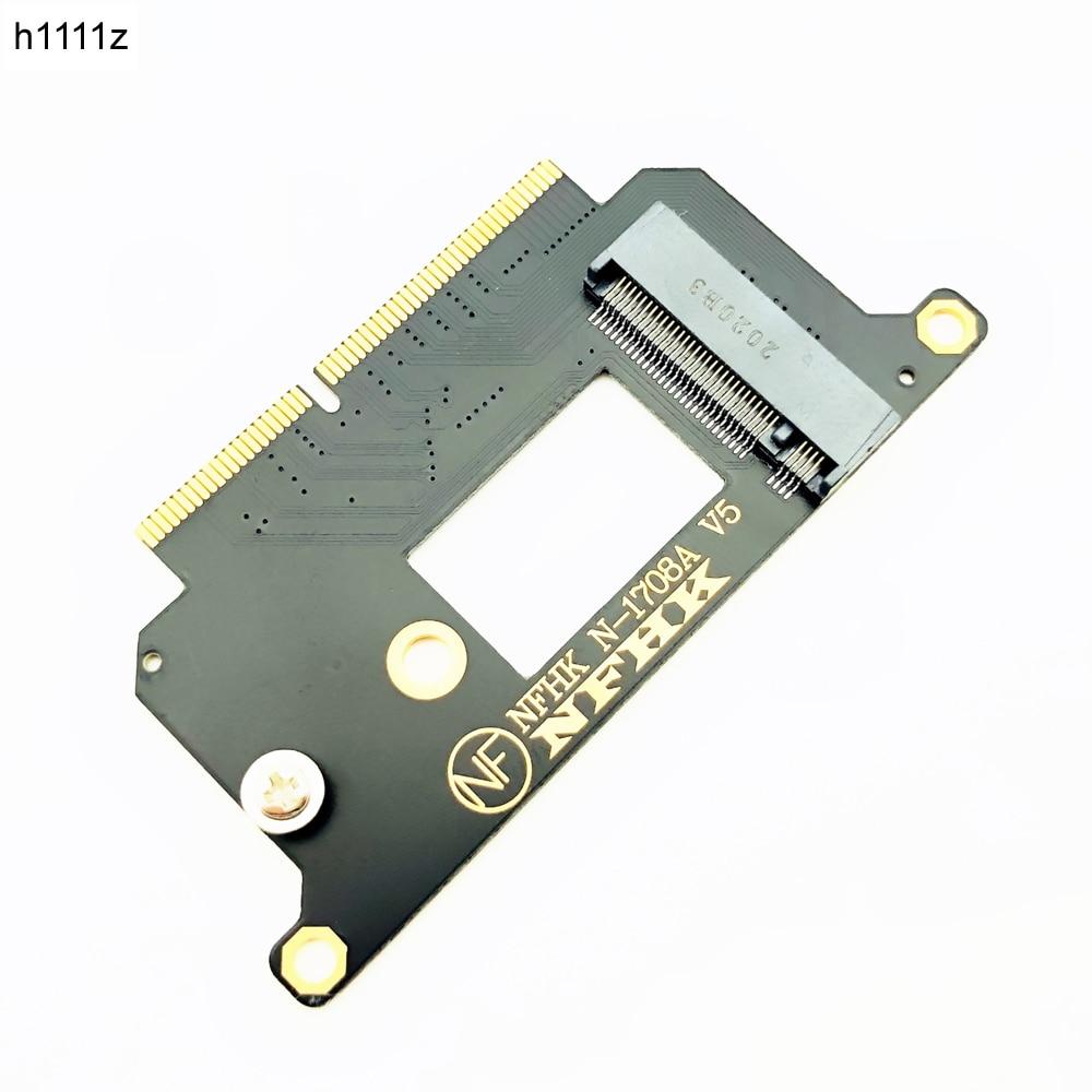 A1708 NVME адаптер для Macbook NVMe PCI Express PCIE к M.2 SSD адаптер N-1708A для Macbook Pro Retina 13