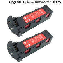 Upgrade 11.4V 4200mAh Battery for Hubsan H117S Zino GPS RC Quadcopter Spare Parts 11.4 V Battery For