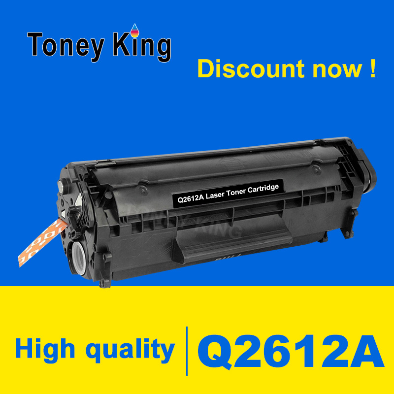 Toney King Q2612A 12A 2612 Compatible Toner Cartridge for HP <font><b>LaserJet</b></font> <font><b>1010</b></font> <font><b>1012</b></font> <font><b>1015</b></font> <font><b>1020</b></font> 3015 3020 3030 3050 <font><b>1018</b></font> <font><b>1022</b></font> Printer image