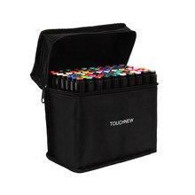 TouchFIVE-Conjunto de rotuladores de doble punta, set de 30/40/60/80/168 colores, rotuladores de Alcohol oleoso para dibujo artístico y Manga