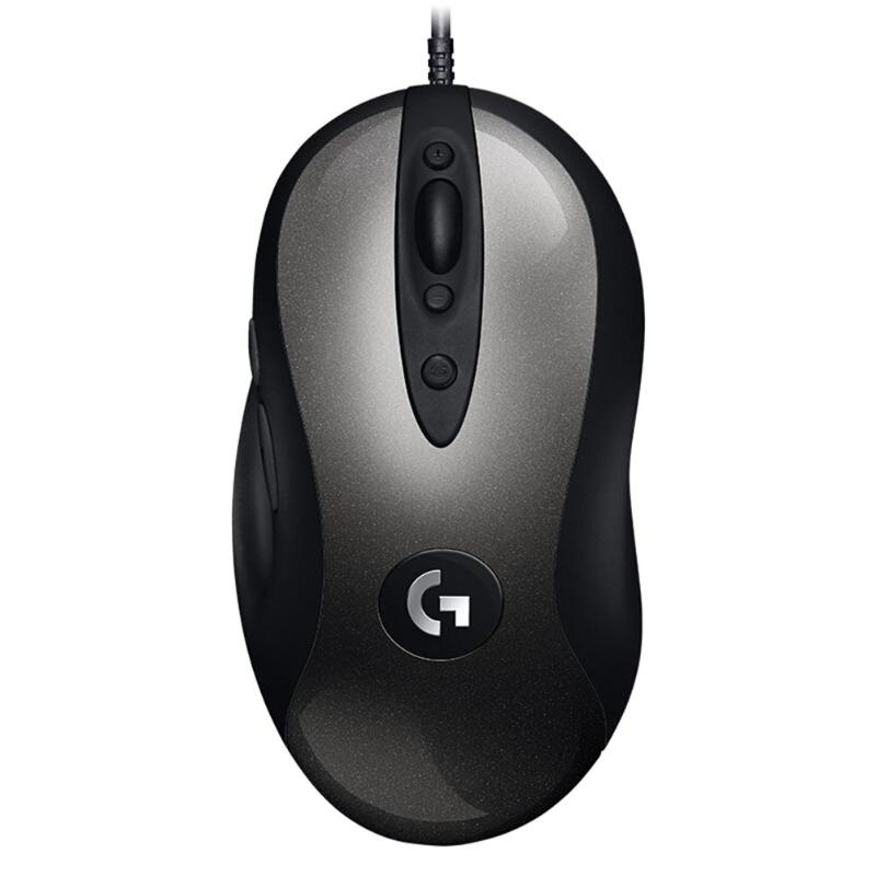 Logitech MX518 Classic Wired Gaming Mouse USB Port 16000DPI 8 Programmable Buttons For Windows 7 For MacOS 10.11 Gaming Mouse image