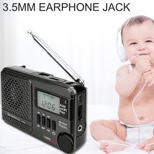 Image 4 - RETEKESS TR601 Digital Wecker Radio DSP/FM/AM/SW Radio Empfänger Mp3 Player 9K/10K Tuning Micro Sd karte und USB Audio Eingang