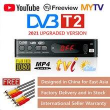 HD 1080p Tv 튜너 Dvb T2 Vga TV 박스 Dvb t2 모니터 어댑터 USB2.0 튜너 수신기 위성 디코더 Dvbt2 러시아어 설명서