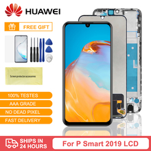 For Huawei P Smart 2019 Display Screen Touch Digitizer Assembly Repair Parts For Huawei P Smart 2019 LCD With Frame POT-LX1 6 21original display for huawei p smart 2019 lcd display screen touch digitizer assembly p smart 2019 display repair parts tool